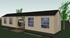 Transportable building office plans