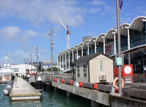 Portable Building - Office at the Viaduct Harbour