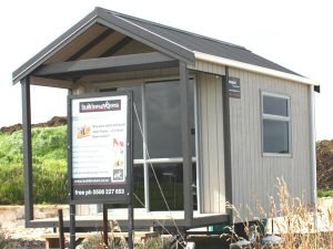Portable accommodation hire