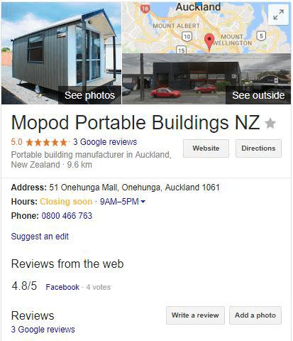 Mopod Google Maps