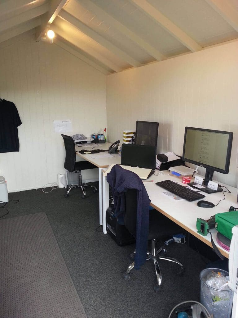 Portable office hire