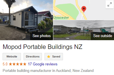 Mopod Transportable Building NZ